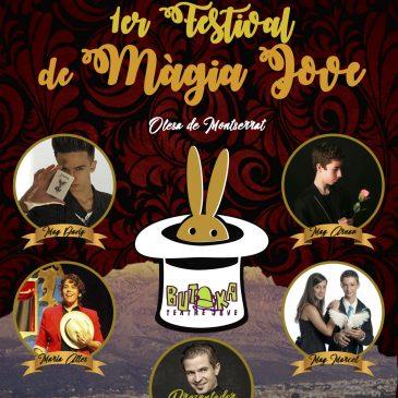 1r festival de màgia jove