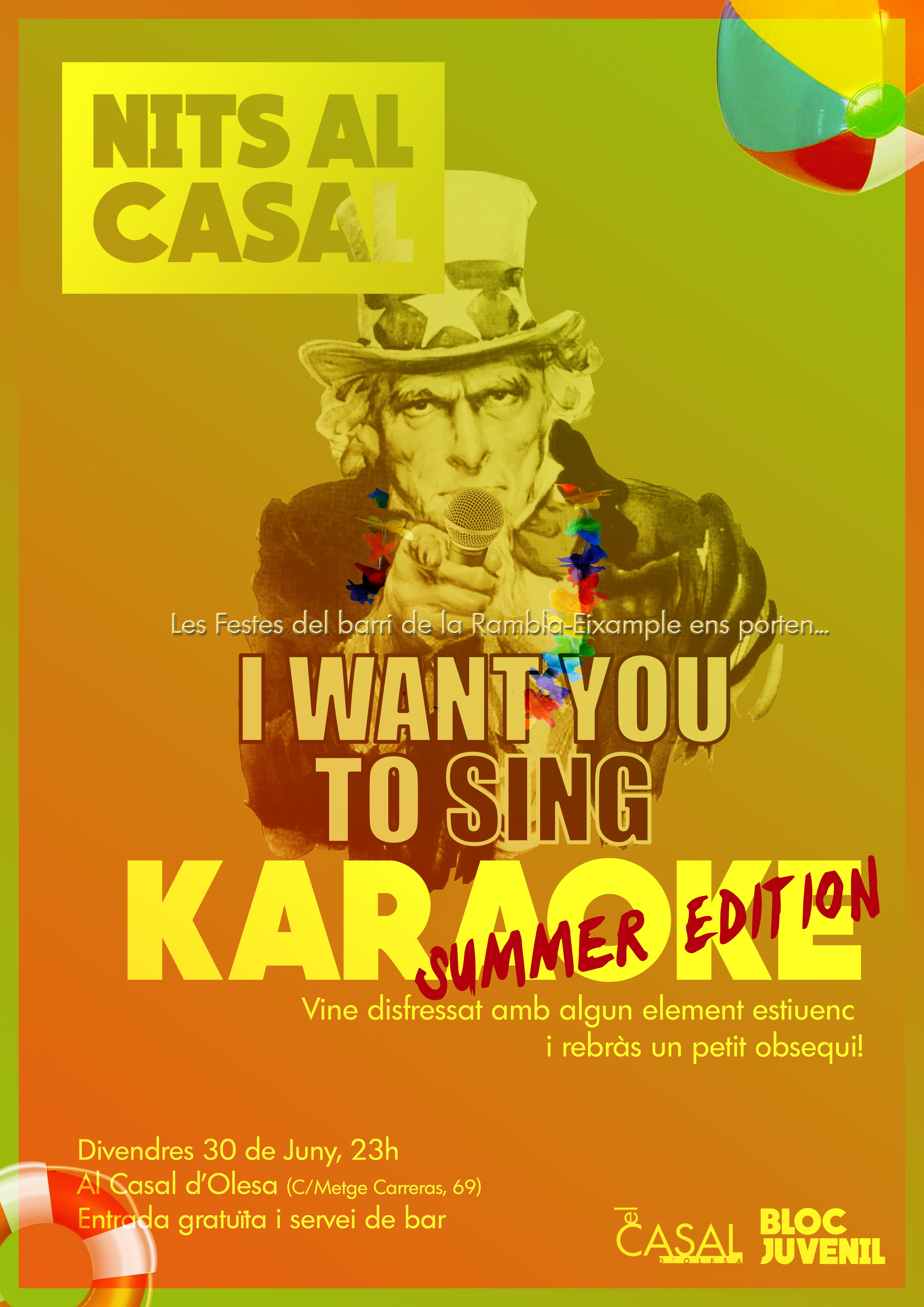 Karaoke summer edition