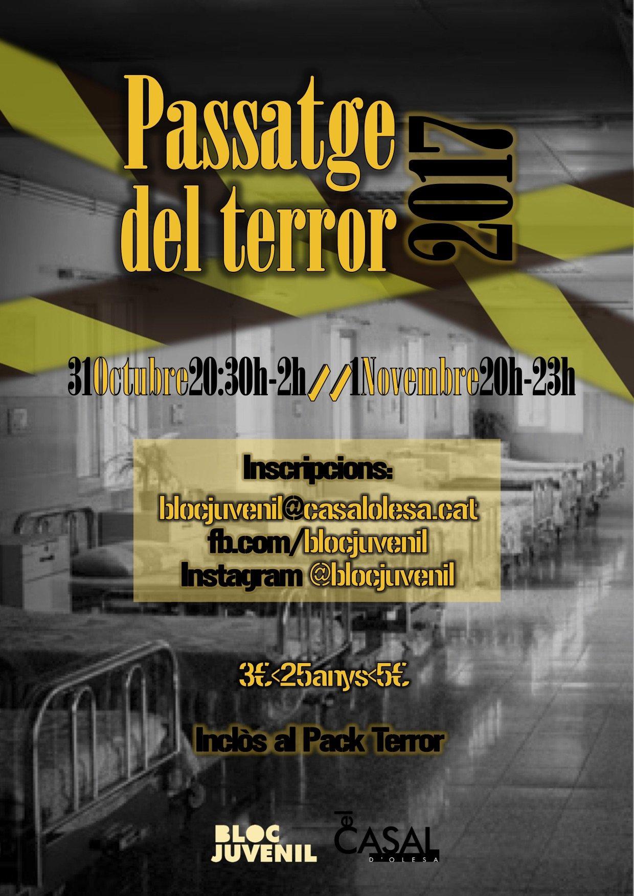 Passatge del Terror 2017