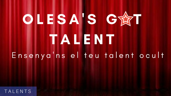 S'obren les inscripcions per Olesa's Got Talent!