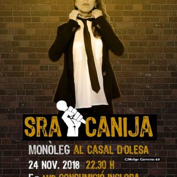 Tornen les 'Nits al Casal' amb la Sra Canija!