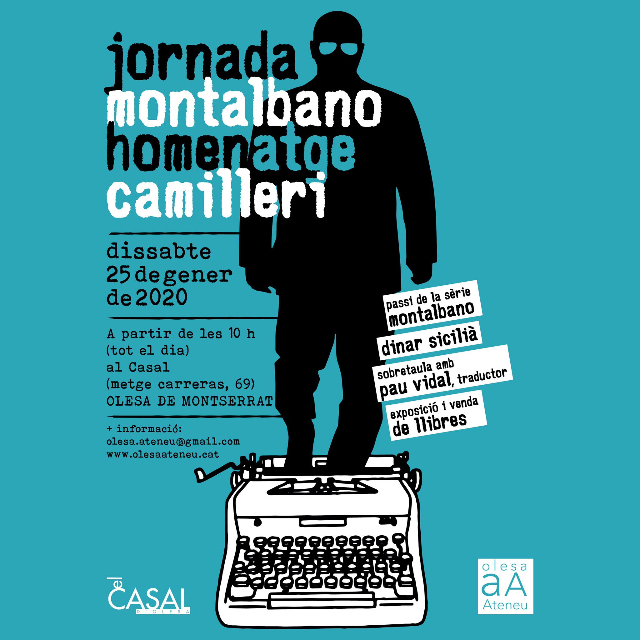 Jornada homenatge a Motalbano Camilleri