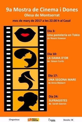 9a Mostra de cinema i dones
