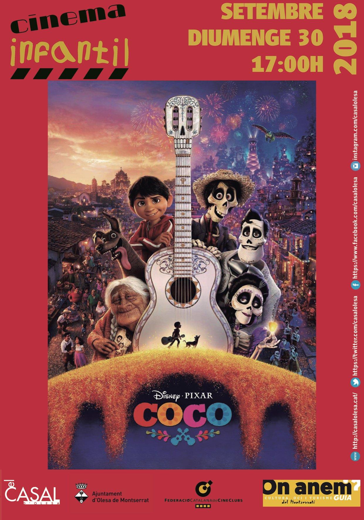 El cine d'aquest mes… per menjar-se molt el coco!